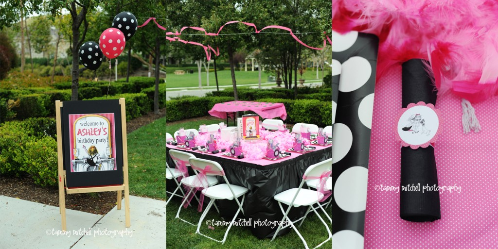 birthday party food table. My ideas for party printables