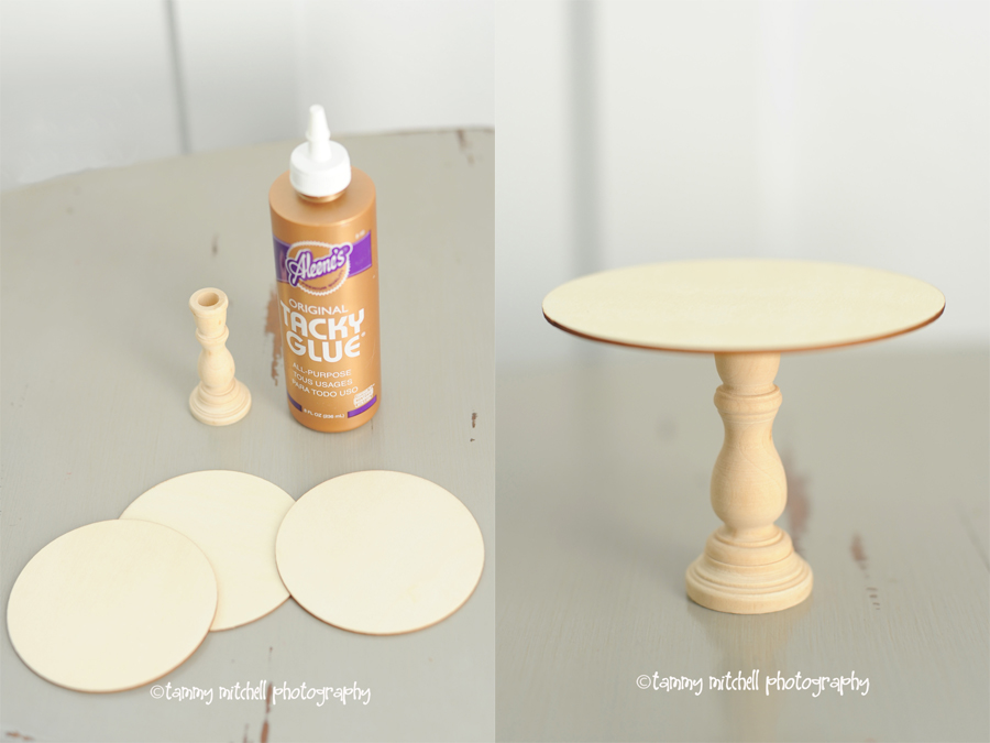 how to make own cake stand 3