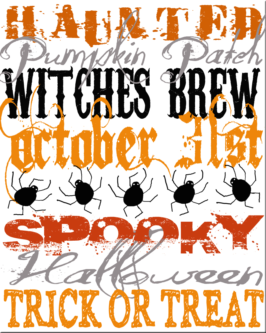picture about Subway Art Printable identified as Im Baaaaaaaaaaack!! and with some totally free printable halloween