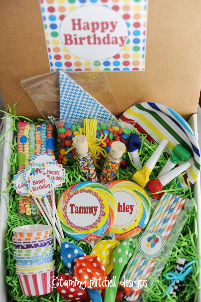 Make This Creative Gift Ideas Birthday In A Box Tammy Mitchell