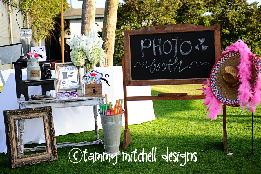 tammy mitchell designs wedding event custom photo booth